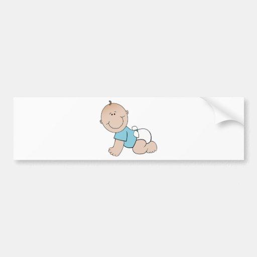 Balloon Party Birthday Celebration Destiny Baby Bumper Sticker