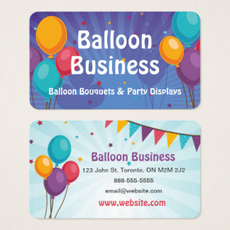 Balloon Party Business Card
