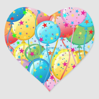 Balloon Party Stickers