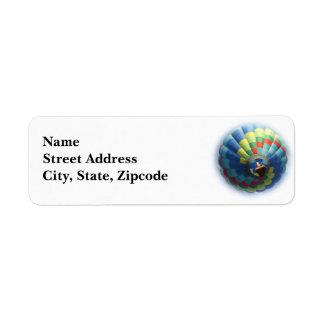 Balloon Return Address Label
