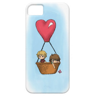 """Balloon Ride"" Lionel & Grace iPhone Case iPhone 5 Covers"
