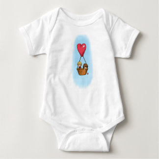 """Balloon Ride"" Lionel & Grace Shirt for Baby"