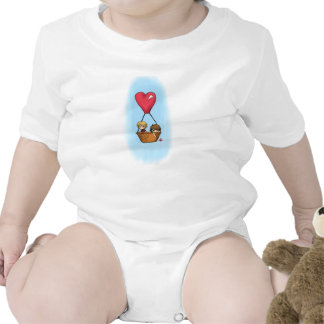 """""""Balloon Ride"""" Lionel & Grace Shirt for Baby"""