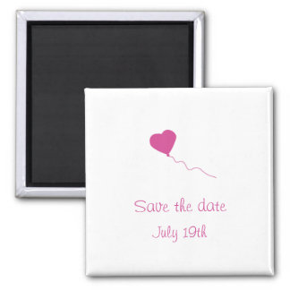 Balloon Save The Date Magnets