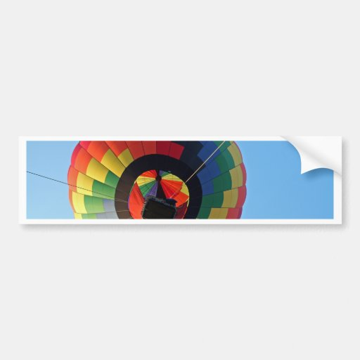 Balloon Swirl!!! Bumper Stickers