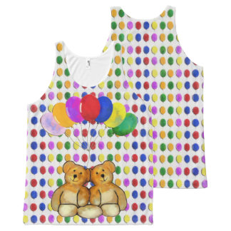 Balloon Teds All-Over-Print Tank Top