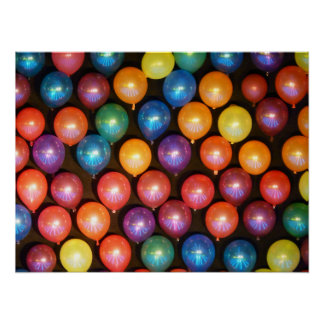 Balloon Wall Poster