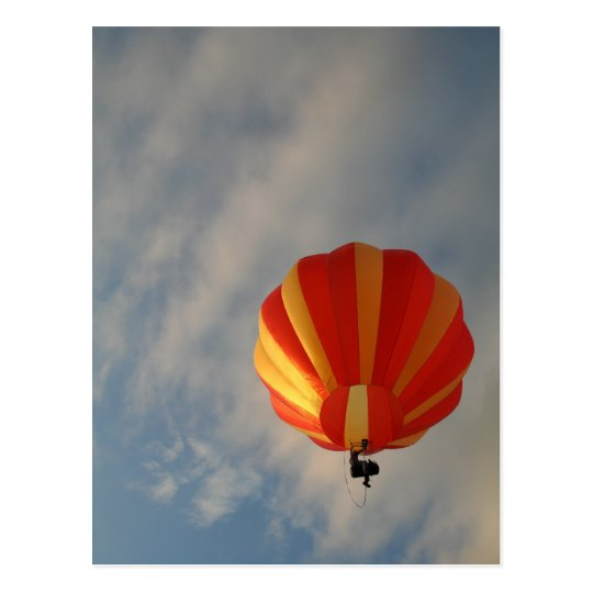 Balloon!  XLTA, Orange Postcard
