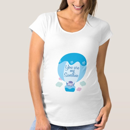 Balloon You Are My Sunshine Maternity T-Shirt