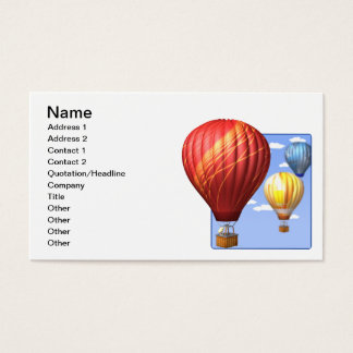 Ballooning 2 business card