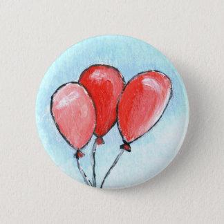 Balloons 2 Inch Round Button