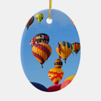 Balloons 6788 Ascending Ceramic Ornament