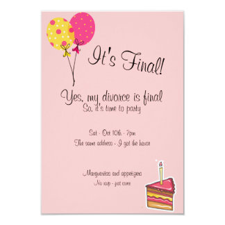 Divorce Party Invite Wording as best invitations template