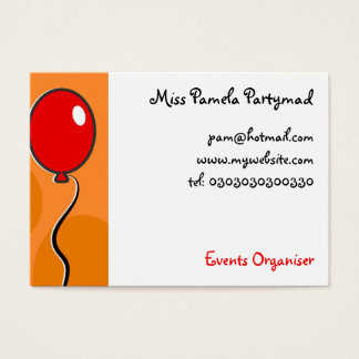 Balloons, Business Card