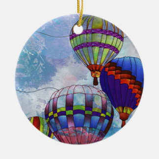 BALLOONS CERAMIC ORNAMENT