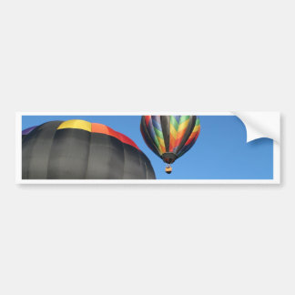 Balloons Colorful Launch! Bumper Stickers