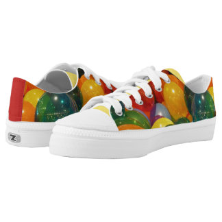 Balloons Colorful Party Design Low-Top Sneakers