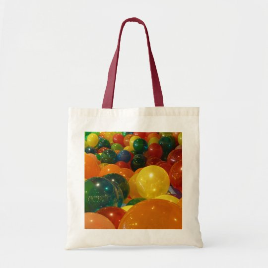 Balloons Colourful Party Design Tote Bag