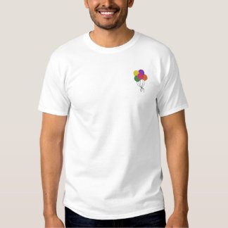Balloons Embroidered T-Shirt