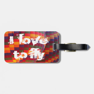 Balloons flight  luggage tag