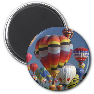 BALLOONS HANGING by SHARON SHARPE Magnet