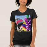 Balloons Hot Air Clusters Tshirts