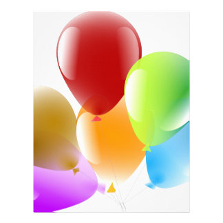 Balloons Letterhead