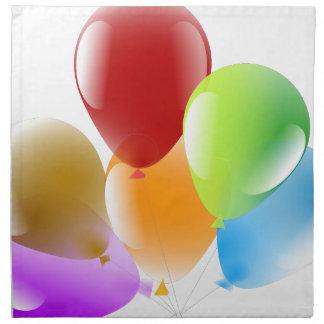 Balloons Napkin