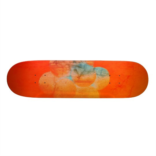 Balloons Orange Skate Boards