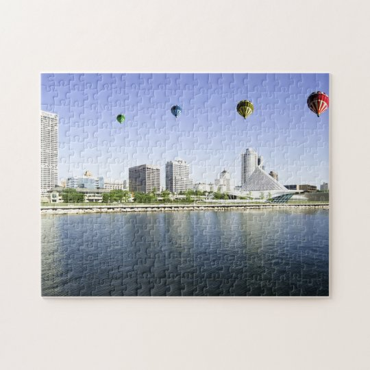 Balloons over Milwaukee WI Puzzle