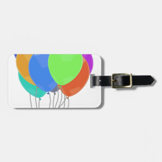 Balloons Party Peace Love Destiny Art Luggage Tag