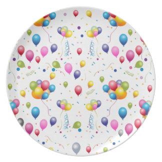 Balloons Plate