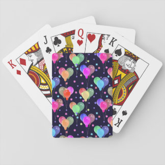 Balloons Playing Cards - Colorful, Pretty, Festive