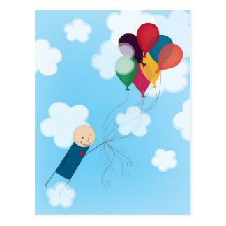 Balloons Postcard