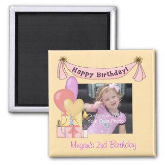 Balloons & Presents Birthday Magnet