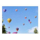 Balloons Sky Balloon Feastival Post Card