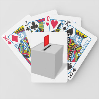 Ballot Box Bicycle Playing Cards