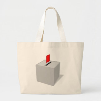 Ballot Box Large Tote Bag