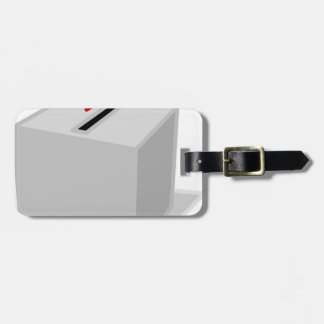 Ballot Box Luggage Tag