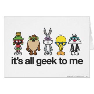 Ballots Looney d'airs - tout le geek Cartes De Vœux