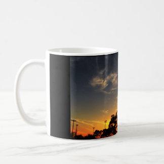 Ballpark Sunset Coffee Mug
