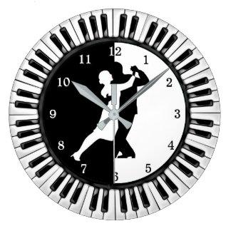 Ballroom Acrylic Wall Clock
