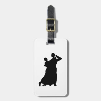 """Ballroom Couple"" Luggage Tag"