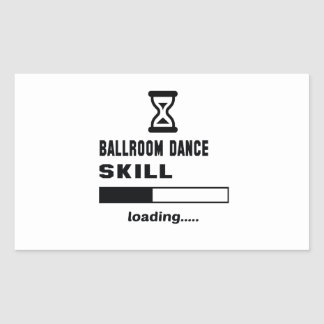 Ballroom dance skill Loading...... Sticker
