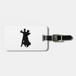 BALLROOM DANCERS LUGGAGE TAG
