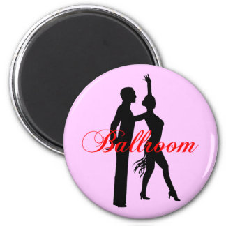 Ballroom Dancing 2 Inch Round Magnet