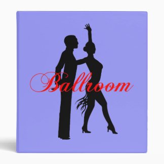Ballroom dancing 3 ring binders
