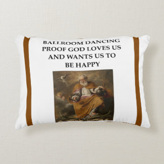ballroom dancing accent pillow