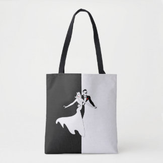 Ballroom Dancing All-Over-Print Tote Bag