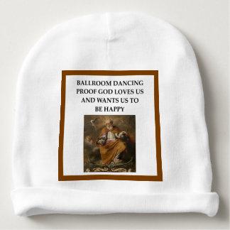 ballroom dancing baby beanie